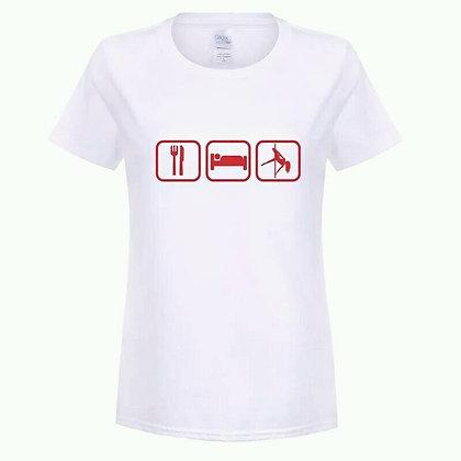 Camiseta Eat Sleep