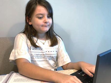 Socorro! Meu filho está em aulas online na pandemia