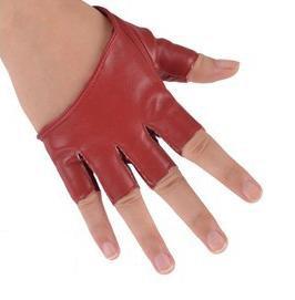 Luvas meio dedo