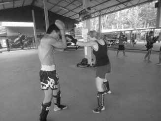'Abi Explores' - Muay Thai Boxing, Phuket, Thailand