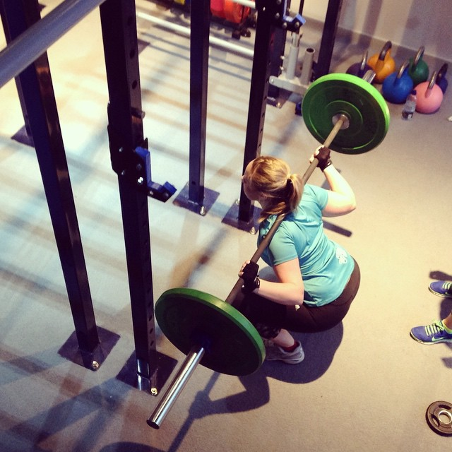 Instagram - Heavy squat time at Girls Who Lift this morning! @lmotionstudios #st