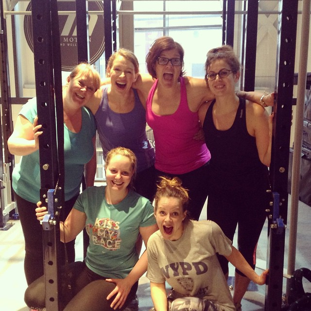 Instagram - Girls Who Lift crew looking particularly enthusiastic this morning a