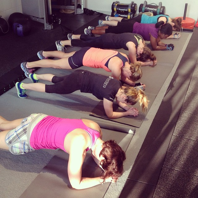 Instagram - Plank time at Girls Who Lift this morning! @lmotionstudios #strongno