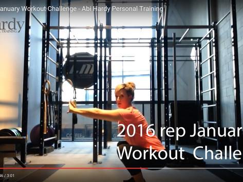 2016 rep January Workout Challenge!