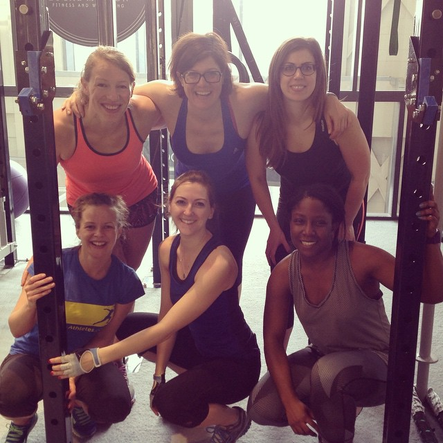 Instagram - Girls Who Lift still smiling after a hard leg session this morning!