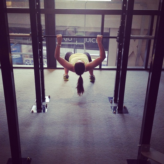 Instagram - Hannah blitzing through the rows at Girls Who Lift this morning.jpg