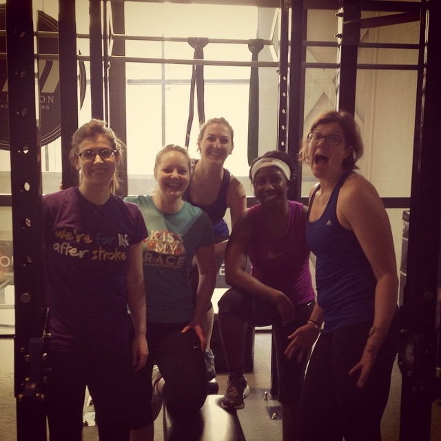 Instagram - Girls Who Lift crew this morning! #strongnotskinny #trainlikeagirl #