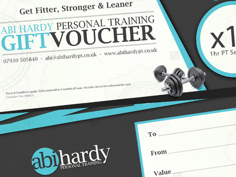Personal Training Gift Vouchers