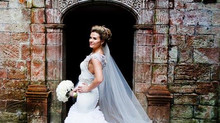 Charlotte's Bespoke Bridal Gown and Bridesmaids Dresses