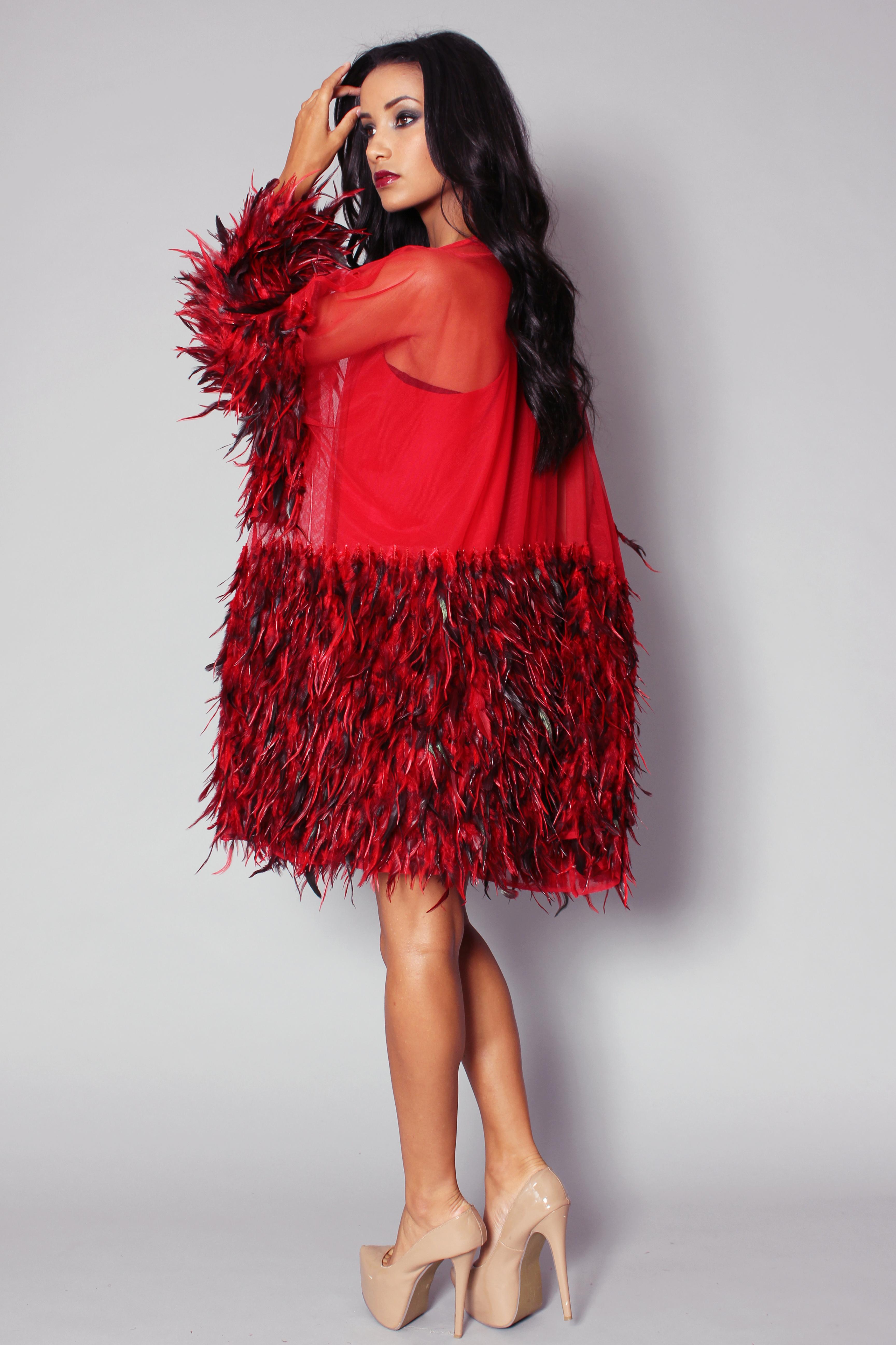 MiMi Dress (Red)  V.3
