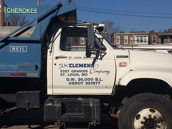 FW Clemens Company Dump Tuck.  We have 2 dumps & 1 pickup.  All driver' are properly licensed and trained.