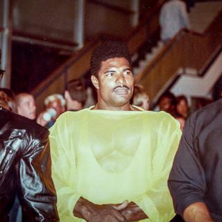 1985 Mr. Universe John Brown, Craig Monson and Rufus Hunt