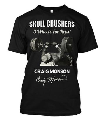 Craig Monson Skull Crushers T-shirt