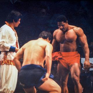 Craig Sumo Wrestling at the Olympic Auditorium.