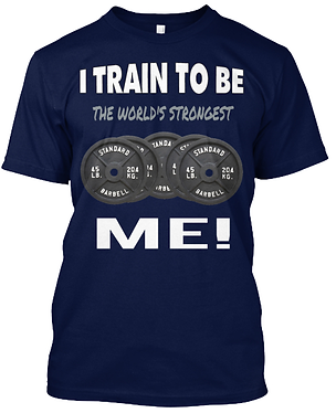 The World's Strongest Me T-shirt