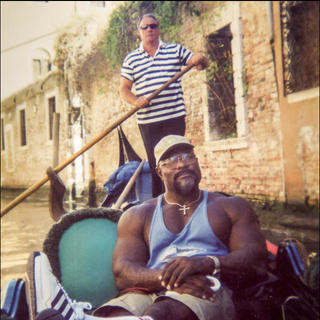 In the Canals in Venice Italy 2004.