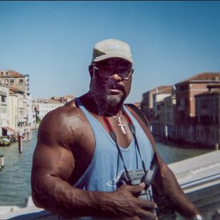 Big Craig in Venice Italy in 2004