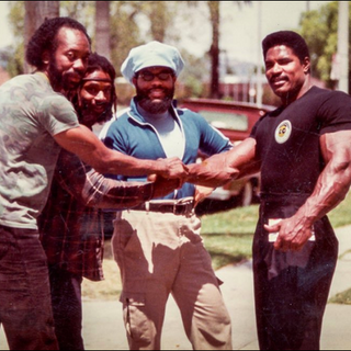Dr. Finny, John Seals, friend and Craig