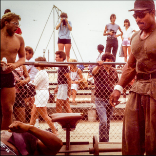 At Venice Beach 1983 For The Gap Band Party Train Video.