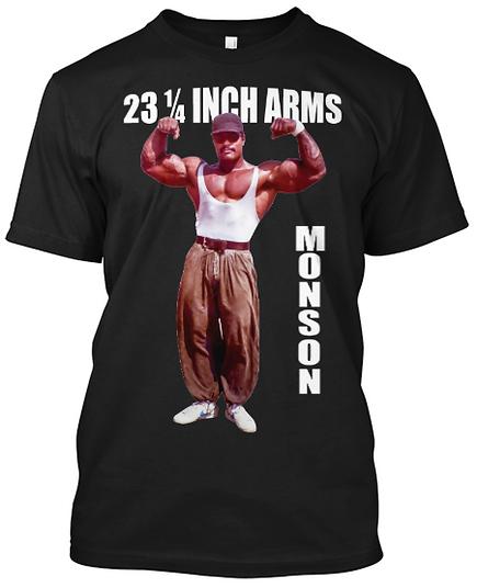 Craig Monson 23 inch Arms T-shirt