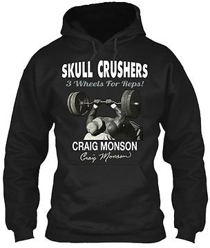 Craig Monson Skull Crushers Hoodie