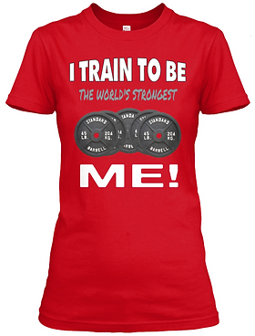 The world's strongest me fitted tee.png