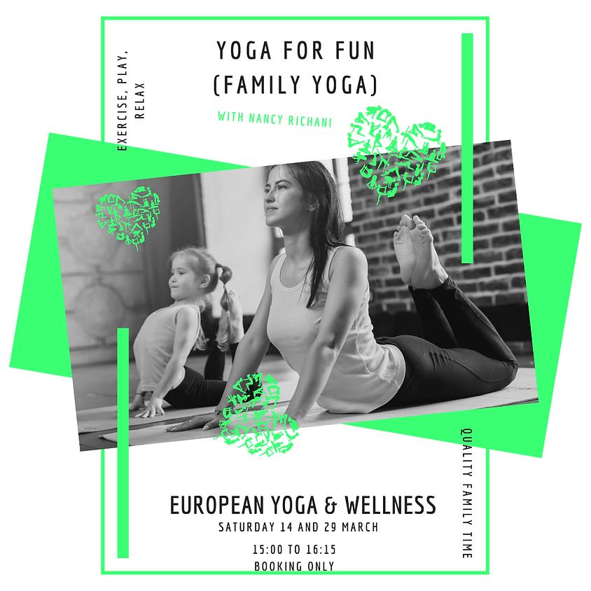 Yoga for fun (Family Yoga)