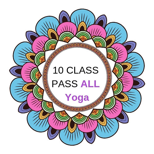 10 Class Pass ALL YOGA