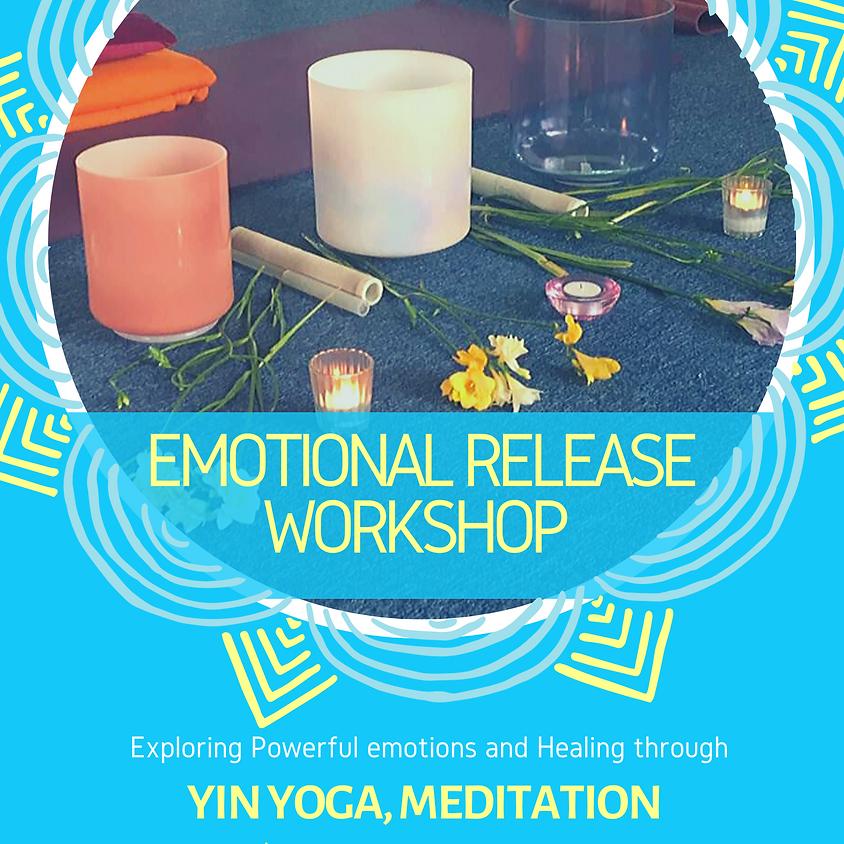 Emotional Release Workshop - through yin yoga, meditation and sound healing