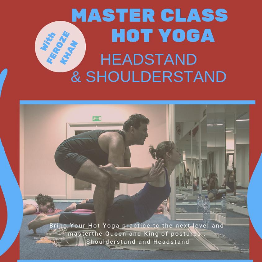 Hot Yoga & Inversions Master Class With Feroze Khan