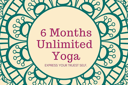 6 Months Unlimited Membership