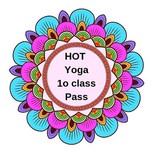 Hot Yoga 10 Class Pass