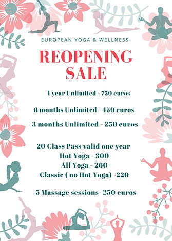 Red Floral Mothers' Day Sale Promo Flyer