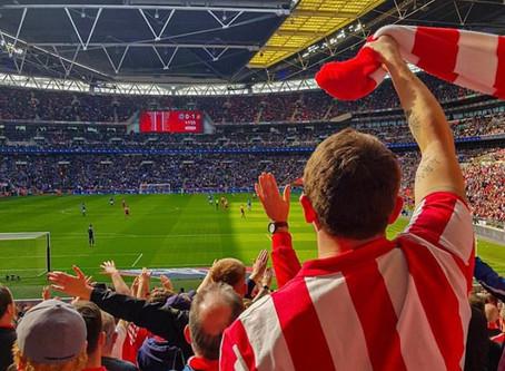 We're at Wembley Again!