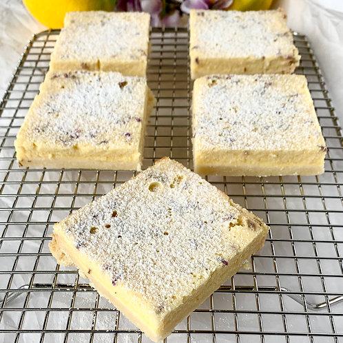 6 French Lavender Lemon Bars