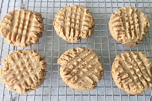 12 Just Peanut Butter Cookies