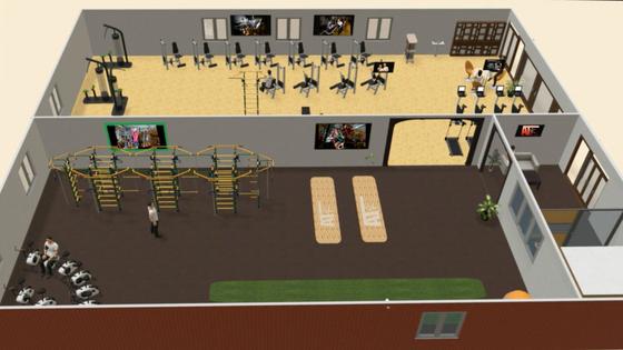 Vi vokser og dobler areal, utstyrspark og utvider programmet!