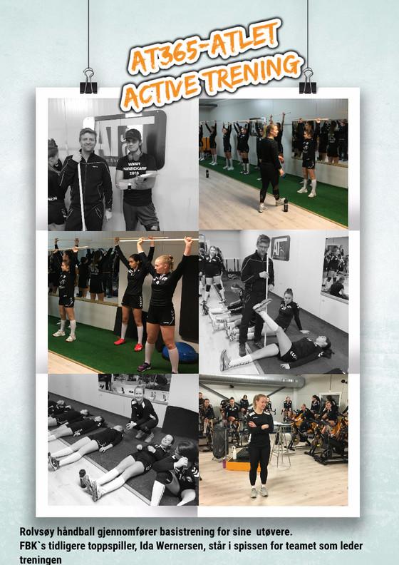 Rolvsøy -05 trener på Active Trening