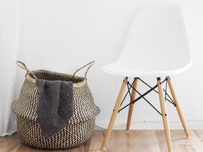 Organizing with baskets!