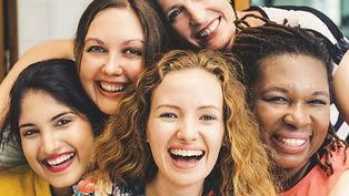Diversity Women Socialize Unity Together