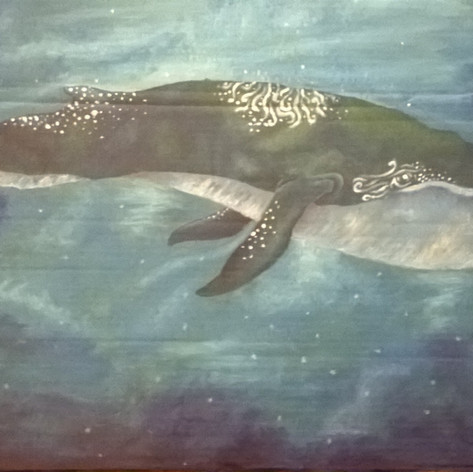 Traditional Whale Painting