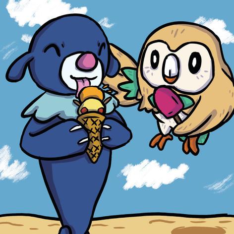 Pokemon Summer Postcards 3