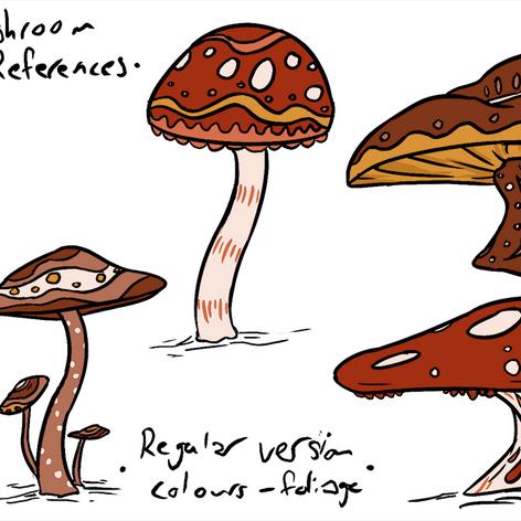 Regular Mushroom Reference