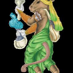 Bibatia the Alchemist Mouse Character Art