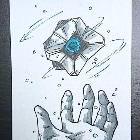 D2 Fan Sketch Cards 1