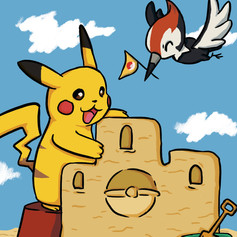 Pokemon Summer Postcards 2