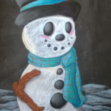 Snowman Poster 1