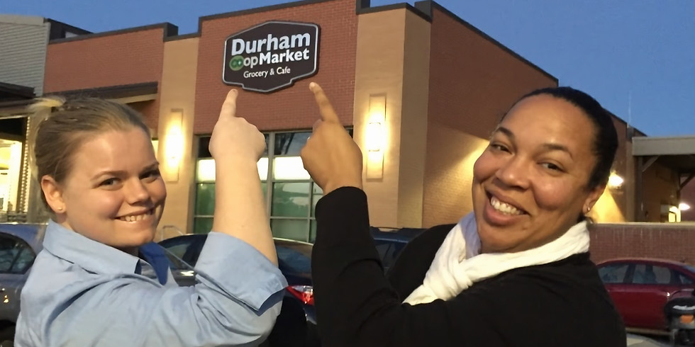 A Microgreen Sampling at The Durham Co-op