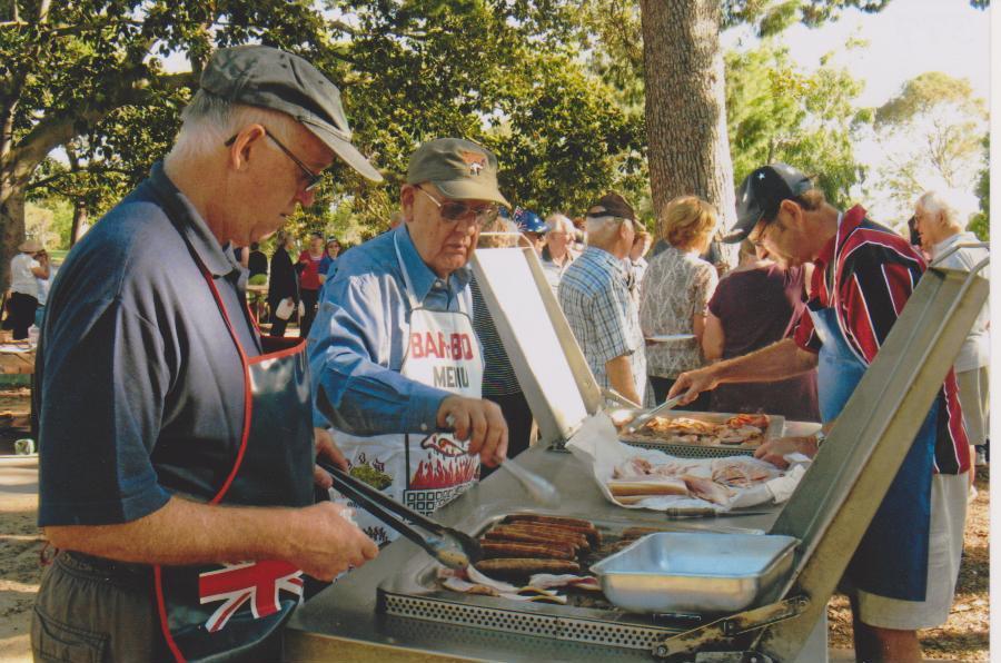 Aust Day BBQ Thornden Park