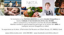 PUERTAS ABIERTAS NIKITA STUDIO